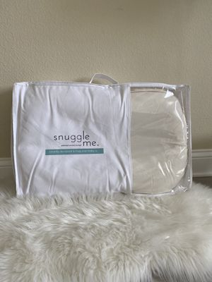 Unopened Snuggle me organic infant lounge pillow with cover for Sale in San Marcos, CA