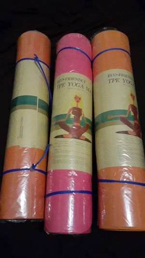 Eco friendly yoga mats for Sale in Huntington Park, CA