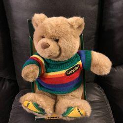 Crayola Kids Medium Size Teddy Bear 🧸 $5 for Sale in Modesto,  CA