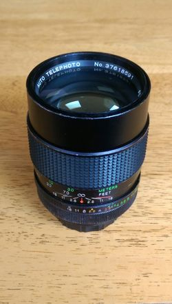 Vivitar 135mm 1:2.5 m42 screw mount lens for Sale in University Place,  WA