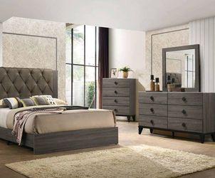 Queen bed frame. Dresser. Mirror. One night stand. Check description for Sale in Pomona,  CA