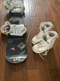 M3 Snowboard Bindings And Boots for Sale in Meridian,  ID