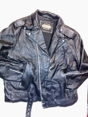 Guide Gear leather motorcycle jacket size Small for Sale in Denver, CO