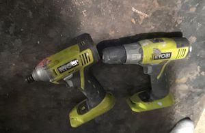 Ryobi impact and drill for Sale in Denver, CO
