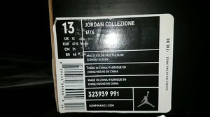 Jordan collections size 13 selling both pairs for Sale in Springfield, VA