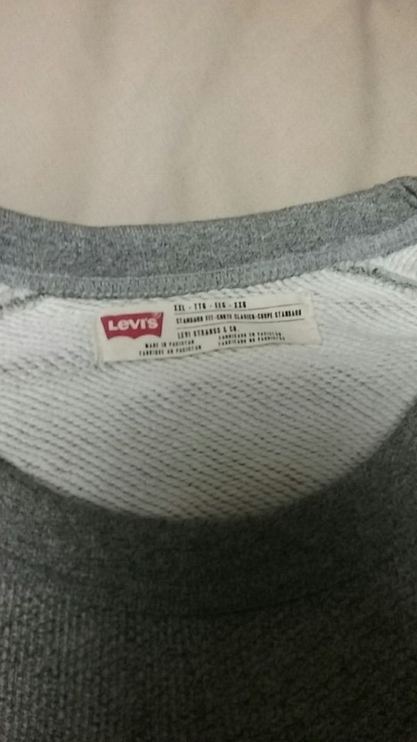 Salt and Pepper Men's Levis Thermal Sweater