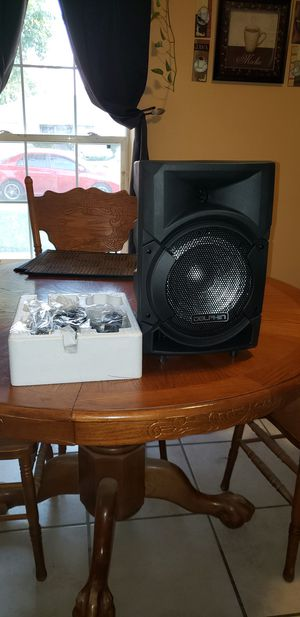 Audio party speaker for Sale in Fresno, CA