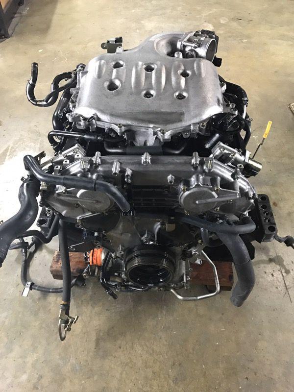nissan 350z infiniti g35 vq35de engine motor transmission. Black Bedroom Furniture Sets. Home Design Ideas