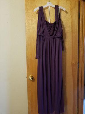 David's Bridal Plum Convertible Dress for Sale in Columbia, MO