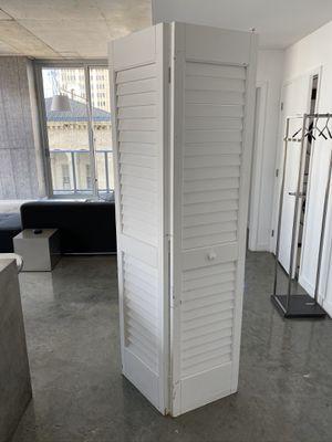 Plantation 17 3/4 Inch by 79 Inch Louver/Louver Interior Slab Closet Door for Sale in Miami, FL