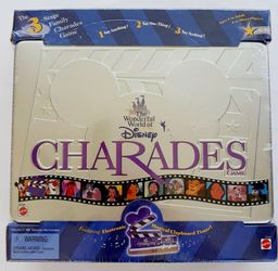 Wonderful World Of Disney Charades Game Metal Tin 1999 NEW SEALED for Sale in City of Industry,  CA