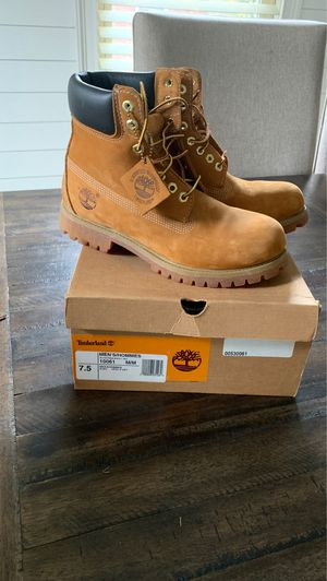 Timberland boots size 7.5 men's-never worn for Sale in East Point, GA
