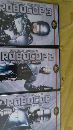 Robot cop triple feature for Sale in New London, CT