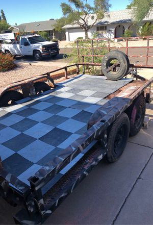 12x6 utility trailer with permanent plates for Sale in Tempe, AZ