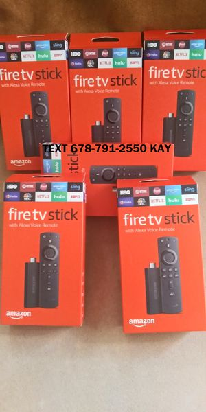 New Amazon Fire TV stick (loaded plug and play) for Sale in Forest Park, GA