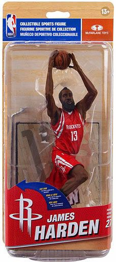 Houston Rockets NBA James Harden MVP mcfarlane statue toy collectible figure for Sale in Cedar Park, TX