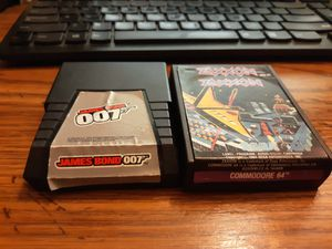 Zaxxon for Commodore 64 and 128 & James Bond 007 (Atari 2600, 1983) . for Sale in Middletown, NJ