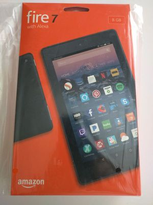 """Amazon Fire 7 Tablet (7th gen) with Alexa, 7"""" Display, 8 GB, Black BRAND NEW for Sale in Dallas, TX"""