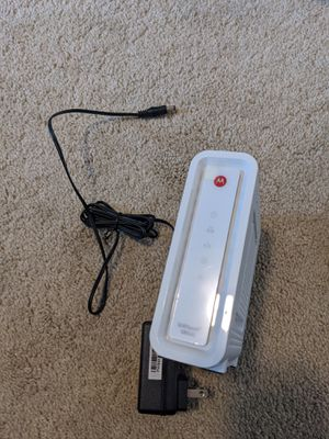 Motorola SB6141 cable modem for Sale in Seattle, WA
