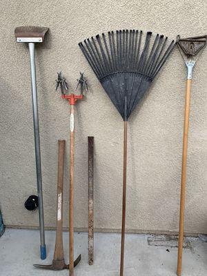 Garden tools for Sale in Riverside, CA