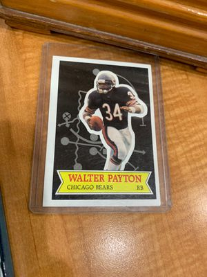 Walter Payton sports card for Sale in Mesa, AZ