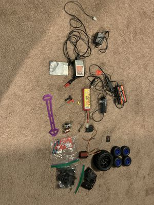 Lot of rc parts and chargers and accessories for Sale in Harrison, MI