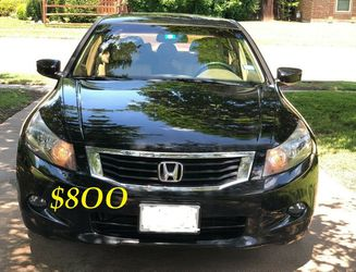 ✅🟢💲8OO Urgently Selling By Owner 2OO9 💚 Honda Accord V6 EX-L Comfortable fully loaded.Clean tittle!!✅🟢 for Sale in Arlington,  VA