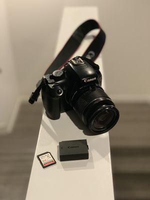 Canon EOS Rebel T3 DSLR Camera + 18-55mm Lens Kit + Camera Bag for Sale in Las Vegas, NV