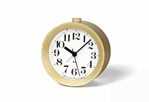 Lemnos Riki Wooden Alarm Clock Natrual From Japan for Sale in Escondido, CA
