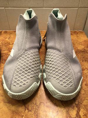 Adidas Stycon Tennis Shoes Gray Racket EG2211 Men's Size 9 for Sale in Wichita, KS
