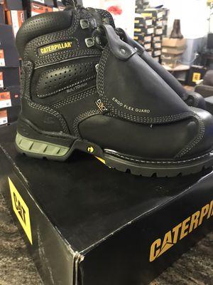 Work boots/hablo español//diferent sizes available//BestinShoes.com 89942 Caterpillar Men's Ergo Flexguard Safety Boots - Black $185.99 for Sale in Morton Grove, IL