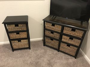 Pier 1 console and side table for Sale in Tempe, AZ