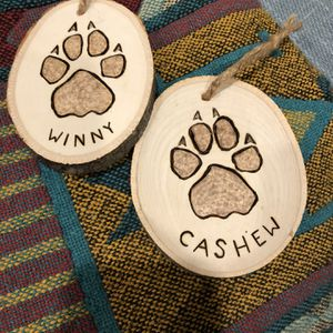 Custom Dog / Cat Paw Ornament Gift for Sale in Columbus, OH