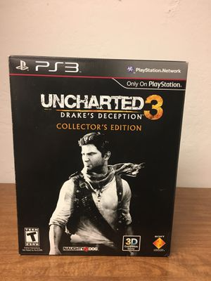 Uncharted 3: Drake's Deception -- Collector's Edition (Sony PlayStation 3, 2011) for Sale in Hayward, CA