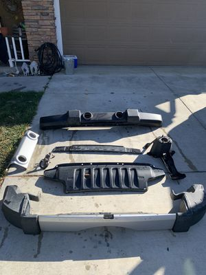 2011 Jeep Wrangler bumpers & spare tire carrier for Sale in Hollister, CA