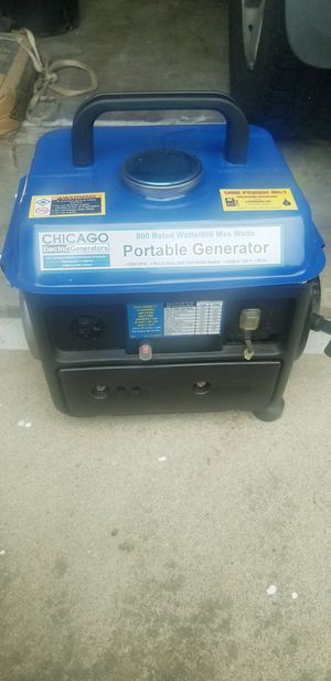 Portable generator for Sale in Sacramento, CA