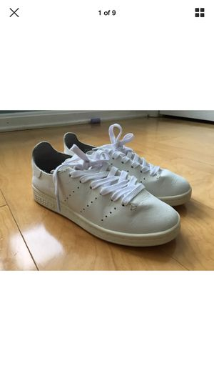 Adidas Stan Smith Leather Sock Unisex Trainers Sneakers Granite Off White BB0006 Size 36 for Sale in Fairfax, VA