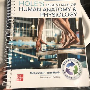 Human Anatomy And Psychology Textbook And Lab Book for Sale in Long Beach, CA