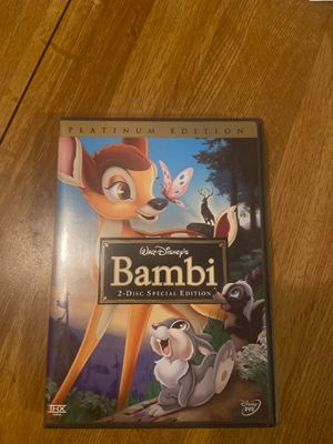Bambi special edition dvd for Sale in Peoria, AZ
