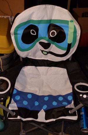 New Kids Folding Panda Chair W/Carrying Bag for Sale in Vancouver, WA