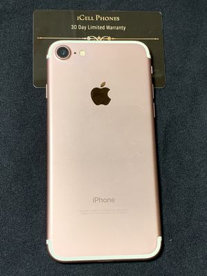 Unlocked iPhone 7 128GB Rose Gold for Sale in San Jose, CA