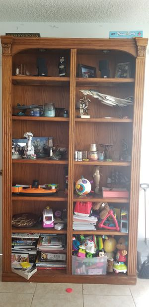 Bookshelves with lights for Sale in Palm Shores, FL