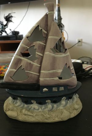 Sailboat Tea Light holder for Sale in East Greenwich, RI
