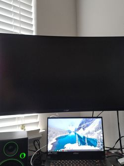 Acer Ed273ur 144hz 1440p Gaming Monitor for Sale in Ridgefield,  WA