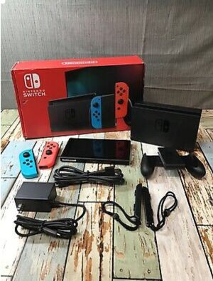 Nintendo Switch Console 32GB With Joy-Cons, Box, Dock, & Accessories for Sale in Detroit, MI