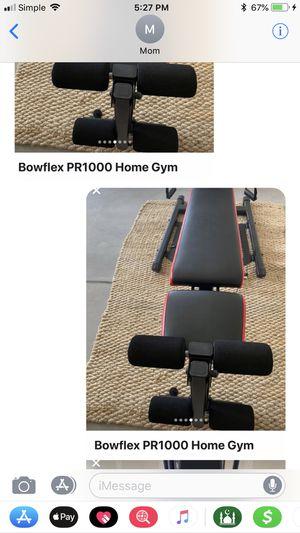 Bow flex home gym for Sale in Denver, CO