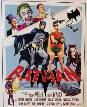 Batman & Robin Original Autograph for Sale in Farmville, VA