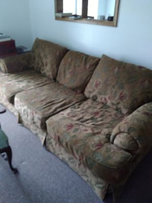 Large Sofa and Chair FREE IN EDINBORO! for Sale in Edinboro, PA