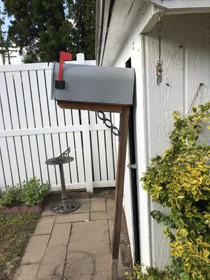 207a18c7e22f Mailbox and post for Sale in Hutchinson
