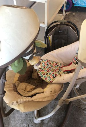 Baby swingers and car seat for Sale in South Bend, IN